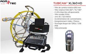Location cam ra endoscopique 360 rotative agm tec - Location camera canalisation ...