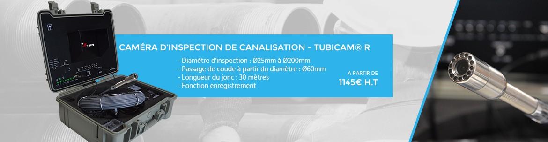 Camera d'inspection de canalisation du diamètre 25 à 200 mm