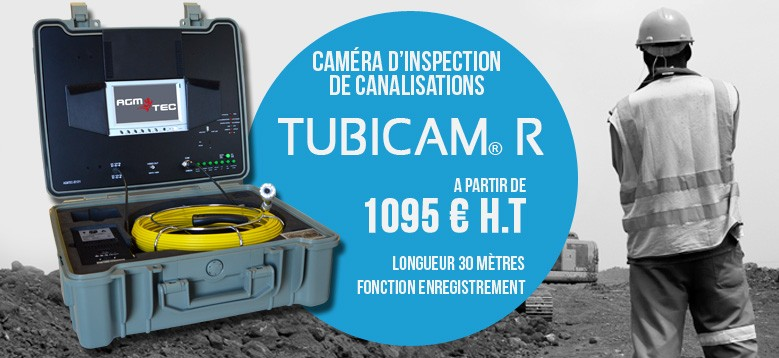 Caméra de canalisation Tubicam R