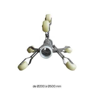 Étoile de centrage inox pour Tubicam® XL / XL 360 HD
