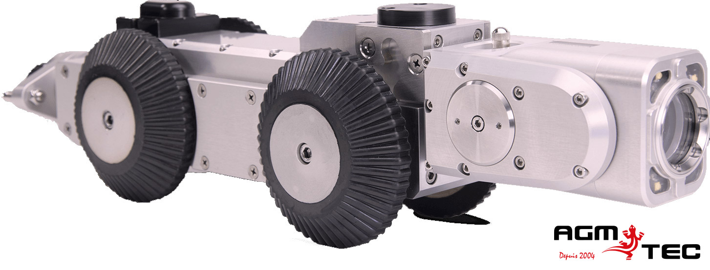 Robots d'inspection  canalisations motorisés