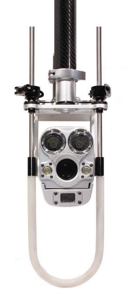 Caméra inspection egouts zoom