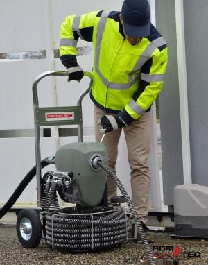 Renseignements sur les furets éléctriques déboucheurs de canalisations