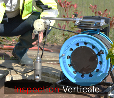 camera inspection verticale