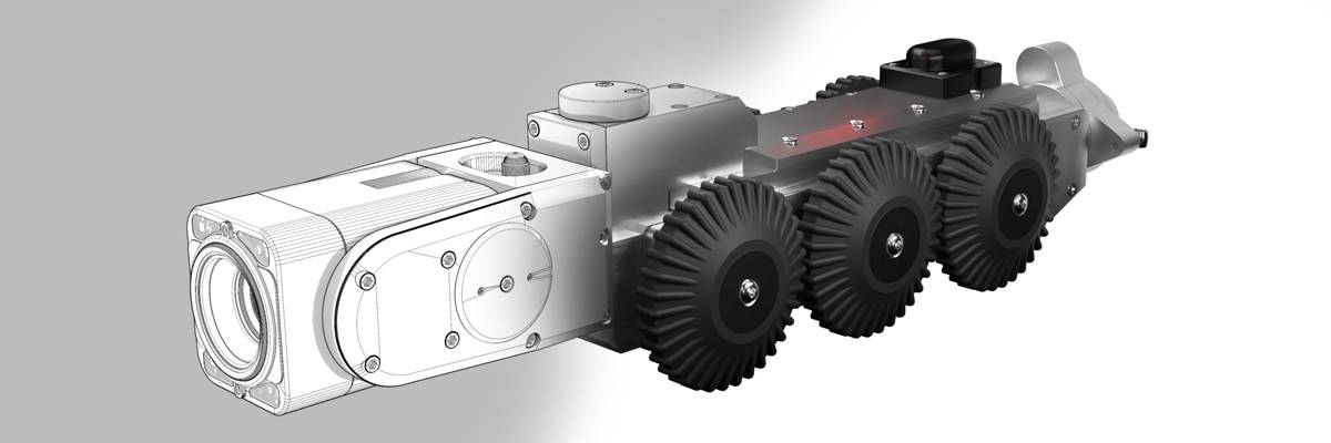 Robot d'inspection de canalisation AX300